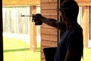 Kevin Venta (SD Kovinar Ormož) je znova blestel pri pištoli in dosegel tretji najboljši izid med vsemi pištoljaši v 1. A in v 1. B ligi.