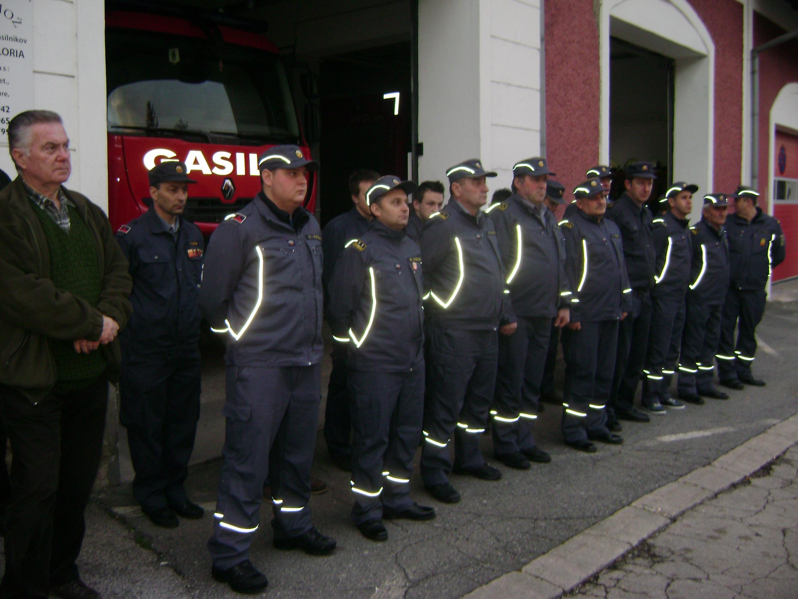 Podelili ZAHVALE sodelujočem gasilcem, občanom in društvom v vseslovenski akciji ŽLED 2014