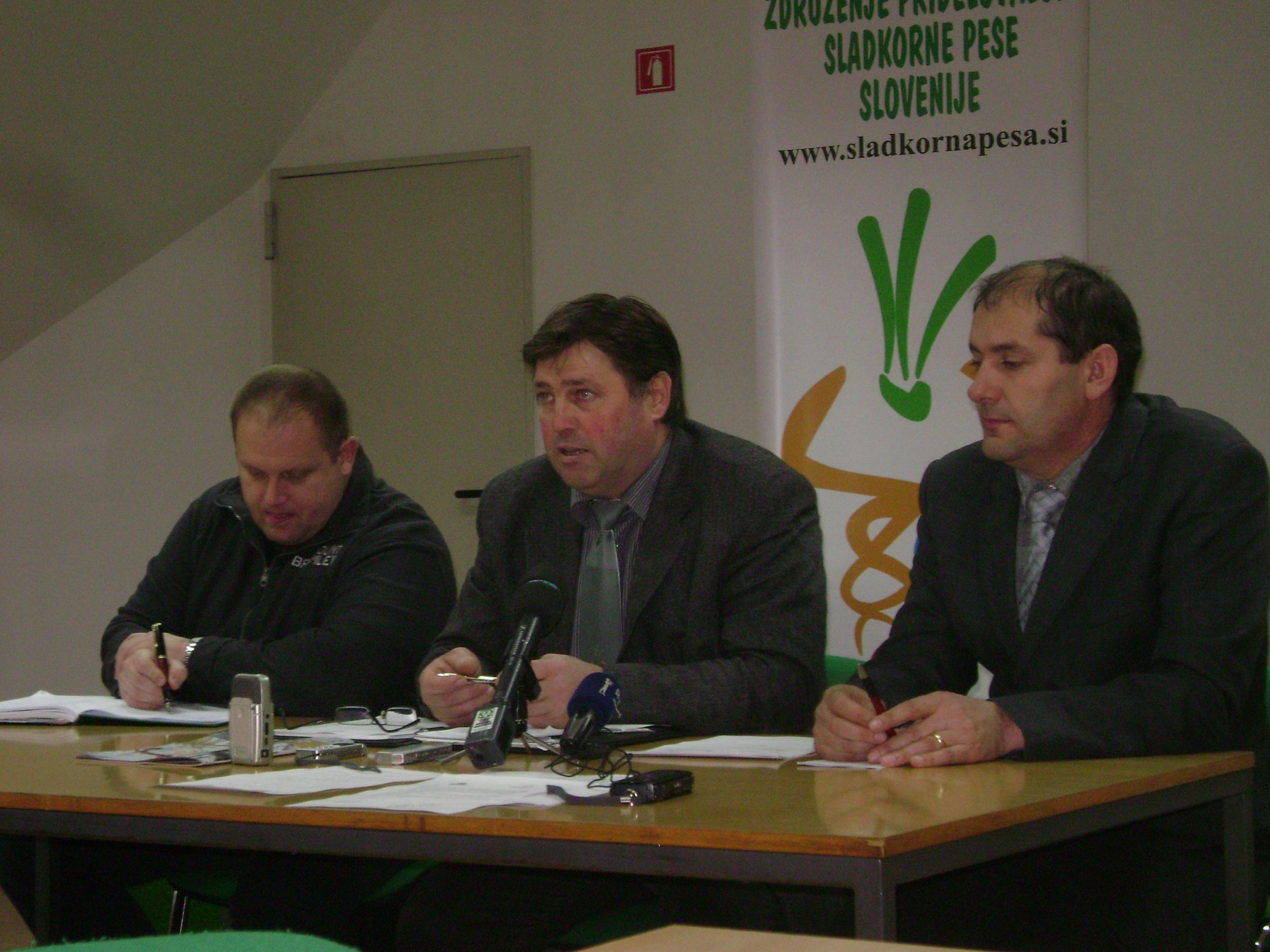 Z minule tiskovne konference ZPSP Slovenije