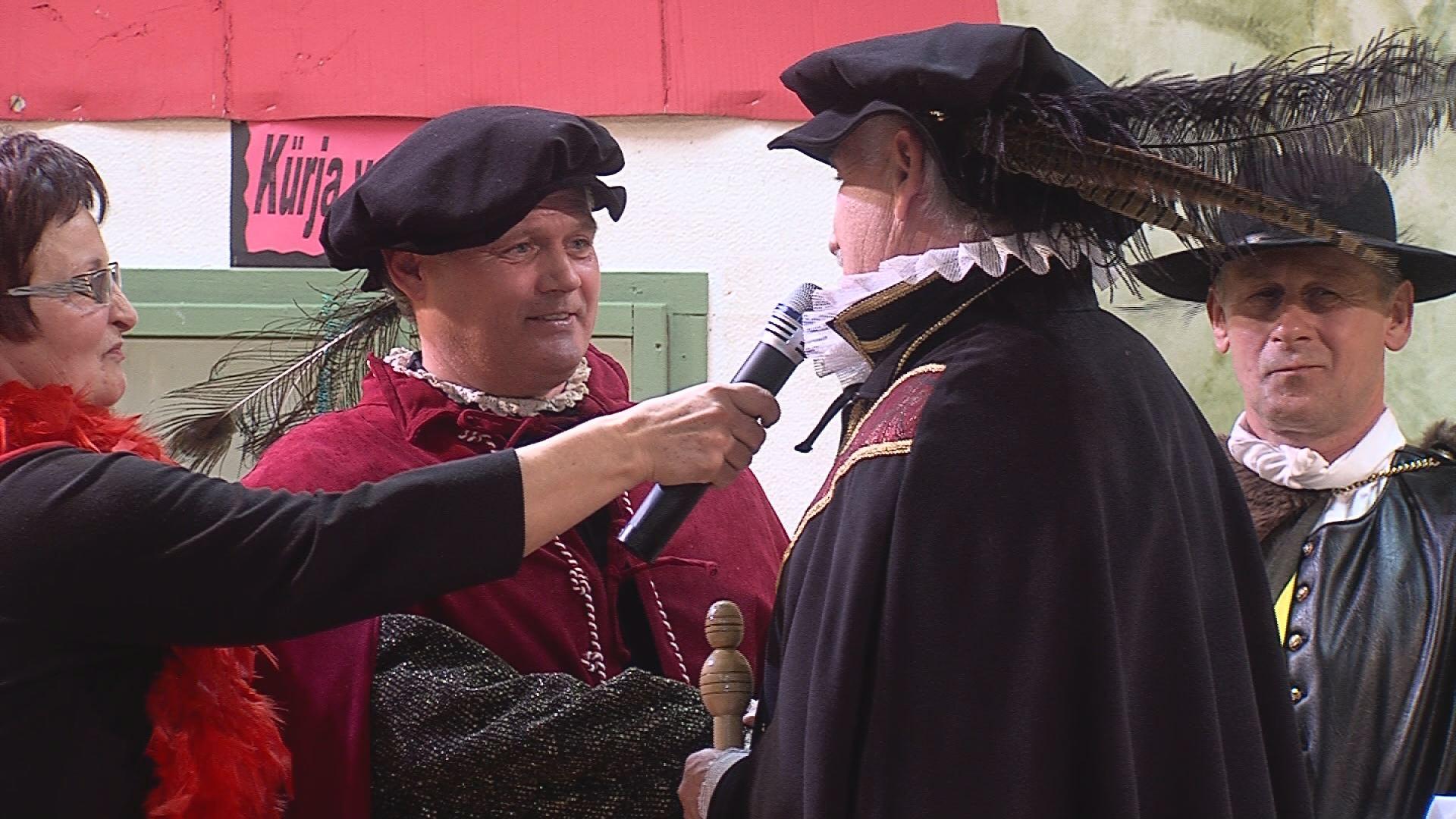 Na KÜRENBALU v Stojncih ustoličili novega princa karnevala BOGDANA VON LAGUNO