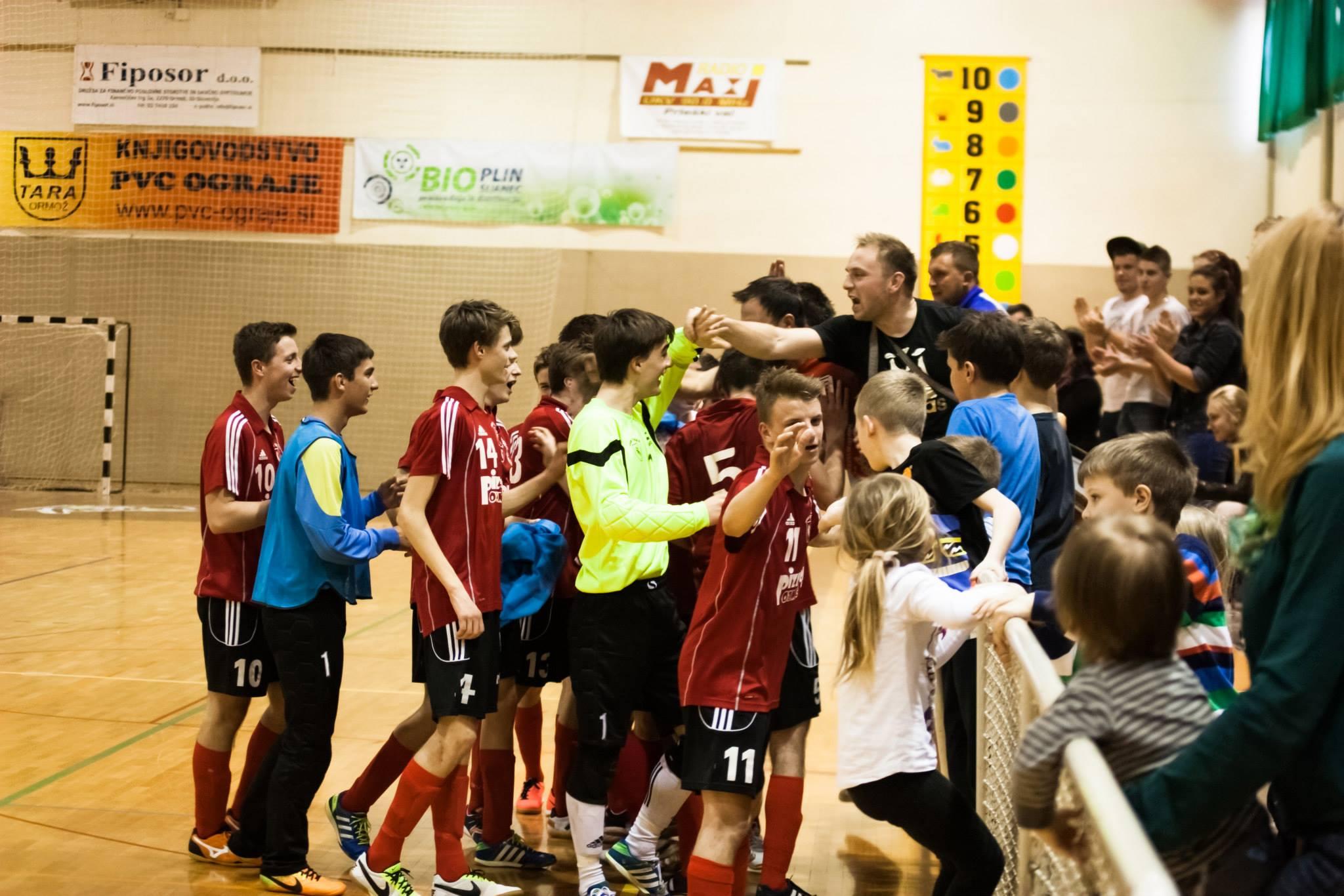 """FUTSAL, DP U18, polfinale, povratna tekma: """"Ne braniti prednosti, ampak še enkrat zmagati"""""""