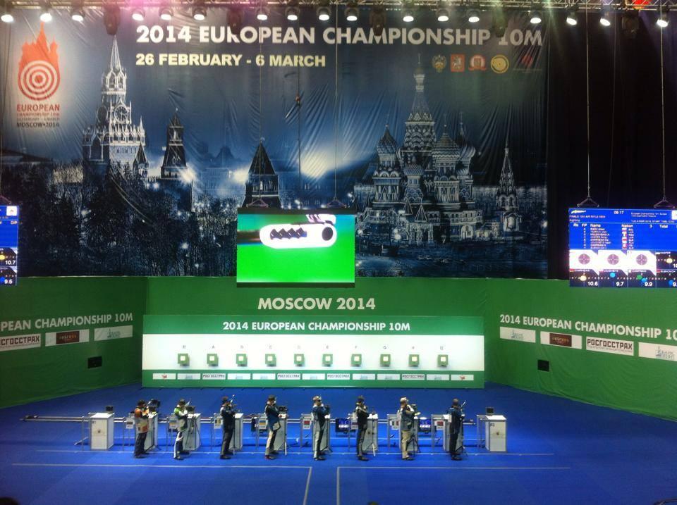 STRELSTVO, EP v Moskvi: Živa Dvoršak odlična 8.; Kevin Venta osvojil 36. mesto