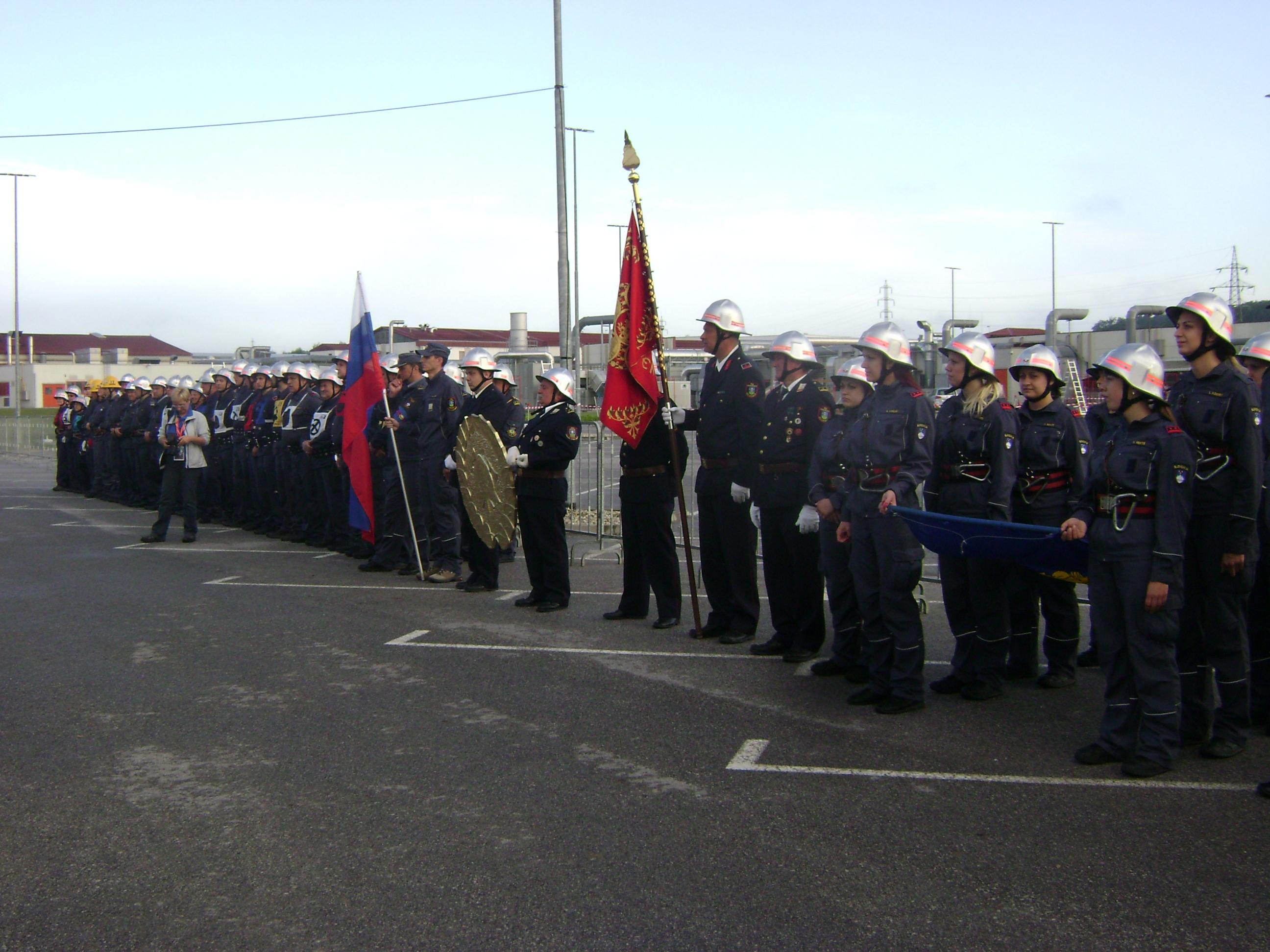 V ORMOŽU danes državno gasilsko tekmovanje za memorial Matevža Haceta