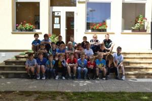 Tabora NK Središče ob Dravi se je udeležilo 25 otrok iz treh različnih šol.