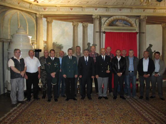 Županov sprejem za veterane vojne za Slovenijo