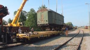 Nalaganje vagona v Pragerskem
