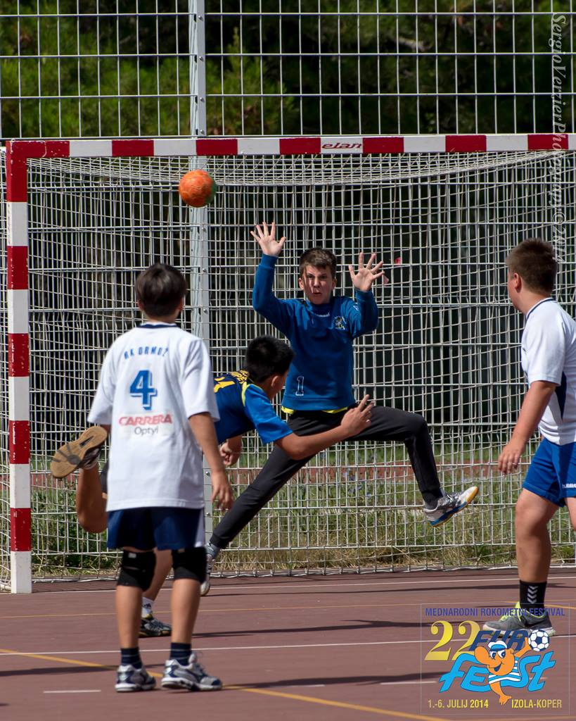 ROKOMET, mlajše selekcije: 22. EUROFEST 2014; Dve medalji za naši ekipi