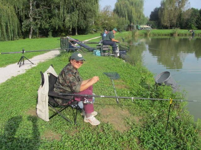 Veterani vojne za Slovenijo Ormož svoje srečanje okronali z ribiškim tekmovanjem
