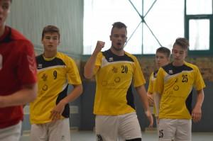 Obramba Jeruzalema je bila boljši del ekipe. Dominik Ozmec, Žak Ciglar, Tilen Kosi.