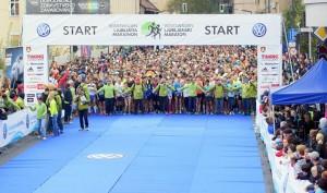 Teklo se je na 42, 21 in 10 kilometorv. 21 km razdalja je štela za državno prvenstvo.