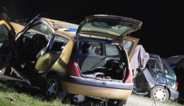 Popoldne huda prometna nesreča izven naselja ŽEROVINCI
