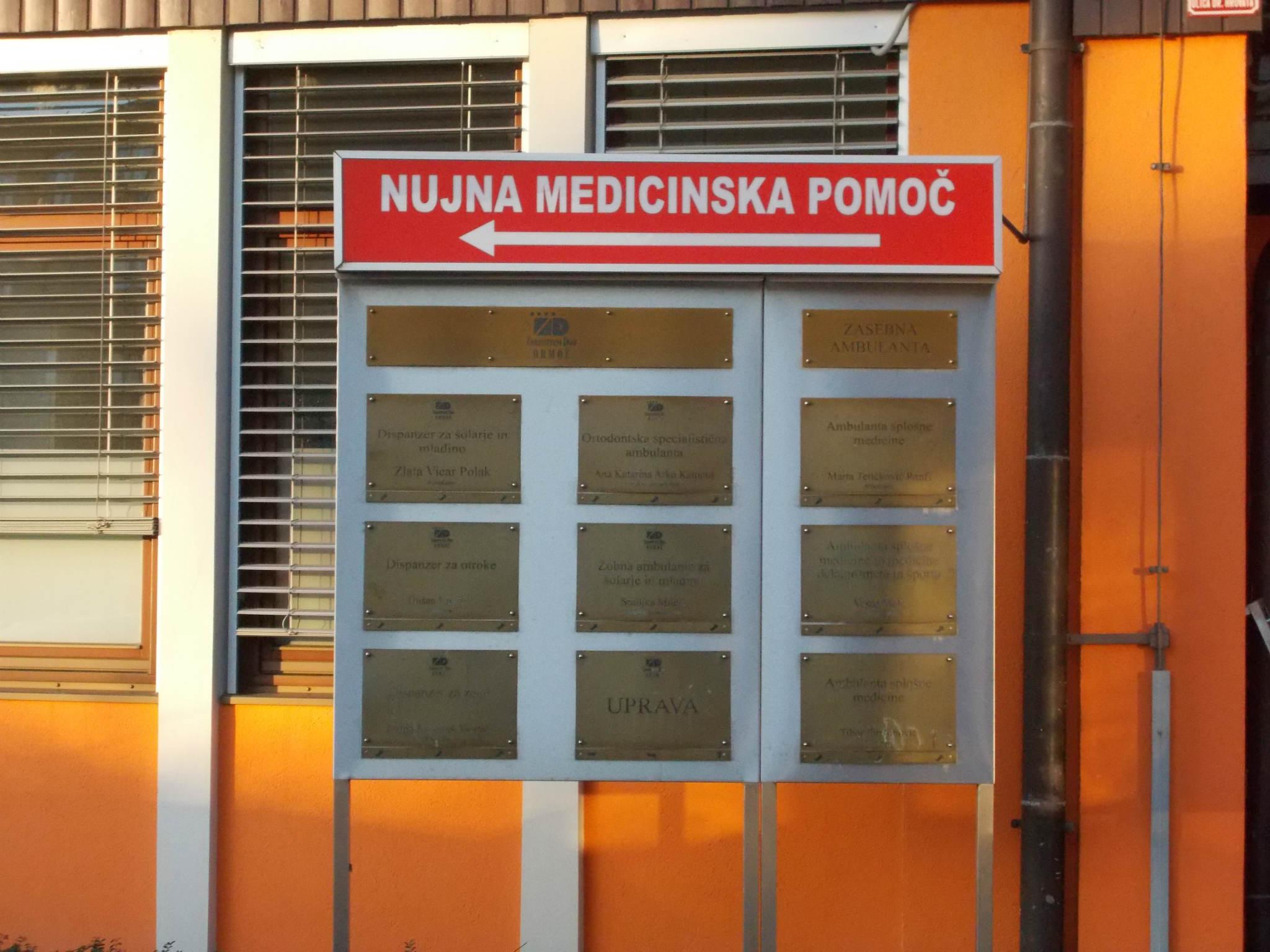ORMOŽ ostaja brez službe NUJNE MEDICINSKE POMOČI ( dodada izjava župana Alojza Soka)