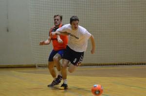 Čvrstih dvobojev ni manjkalo že na prvem treningu pa čeprav je šlo za igranje nogometa.