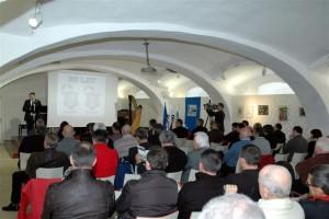 Svečana akademija je potekala v prostorih Bele dvorane v grajski pristavi.