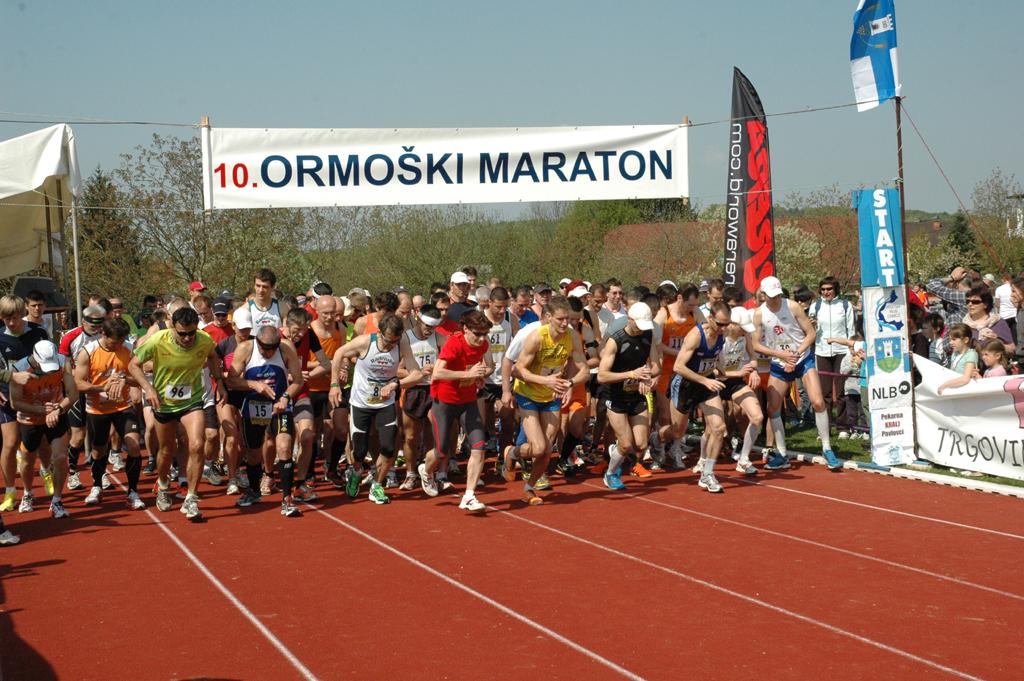 ATLETIKA: Ne pozabite na 14. ormoški mali maraton 2015 – nedelja 19. 4. 2015