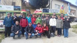 Skupina pohodnikov TD Podgorci Foto: Zdravko Munda