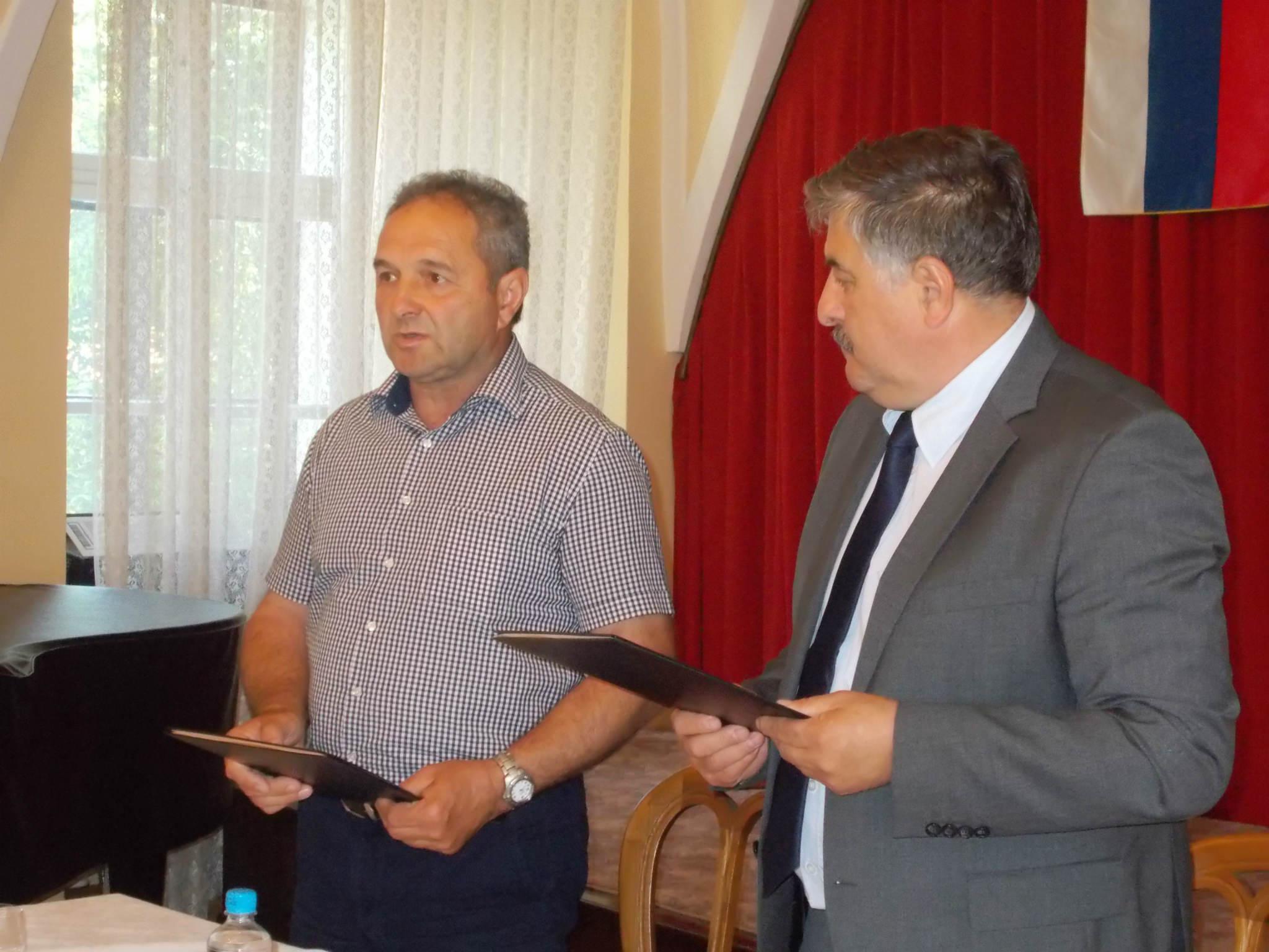 Občini Ormož in Irig (Srbija) danes podpisali PISMO o sodelovanju