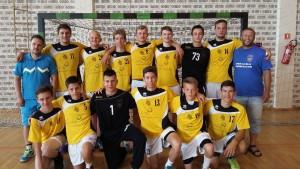 Ekipa kadetov je kljub okrnjenosti navdušila s pristopom na turnirju v Vidovcu.
