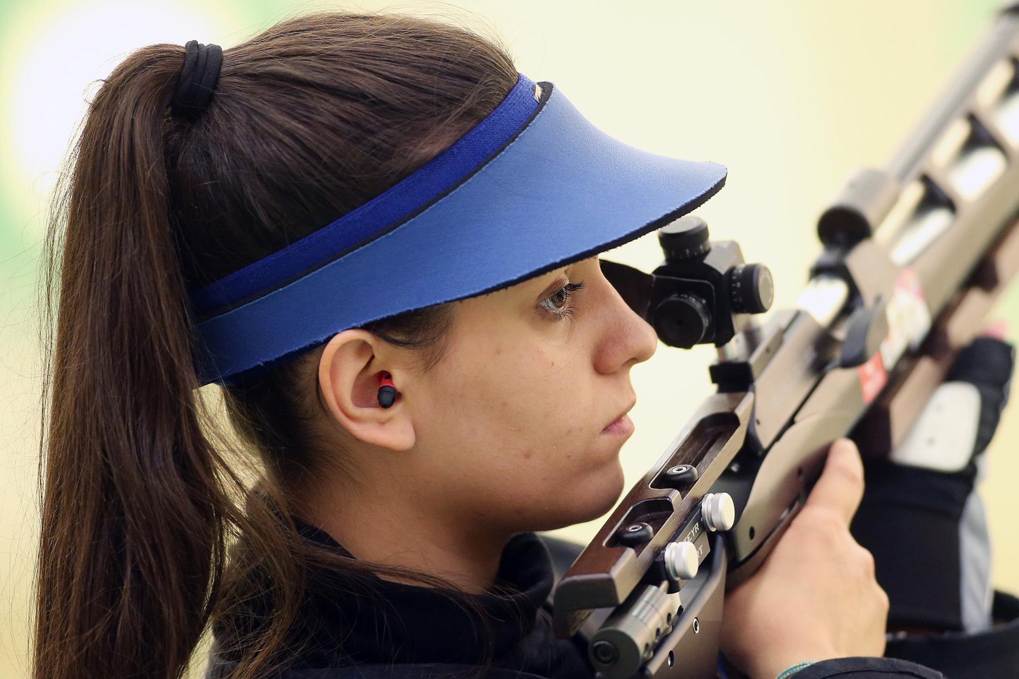1. EVROPSKE IGRE v Bakuju, STRELSTVO: Urška Kuharič z MK puško trojni položaj končala na 26. mestu