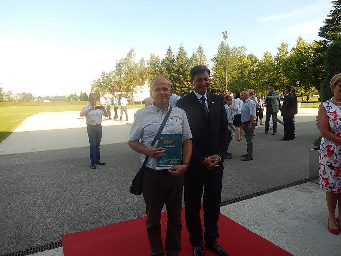 Drago Kukovec iz Ormoža NAJ PROSTOVOLJEC 2014