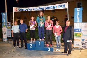 Pri ženskah na 4000 m se je svoje tretje zmage v Ormožu veselila Zita Kacser (zmagovalka 2010, 2013, 2015).
