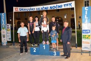 Na družinskem teku je sodelovalo 9 družin, kar je še najbolj razveselilo organizatorje Atletskega kluba Ormož.