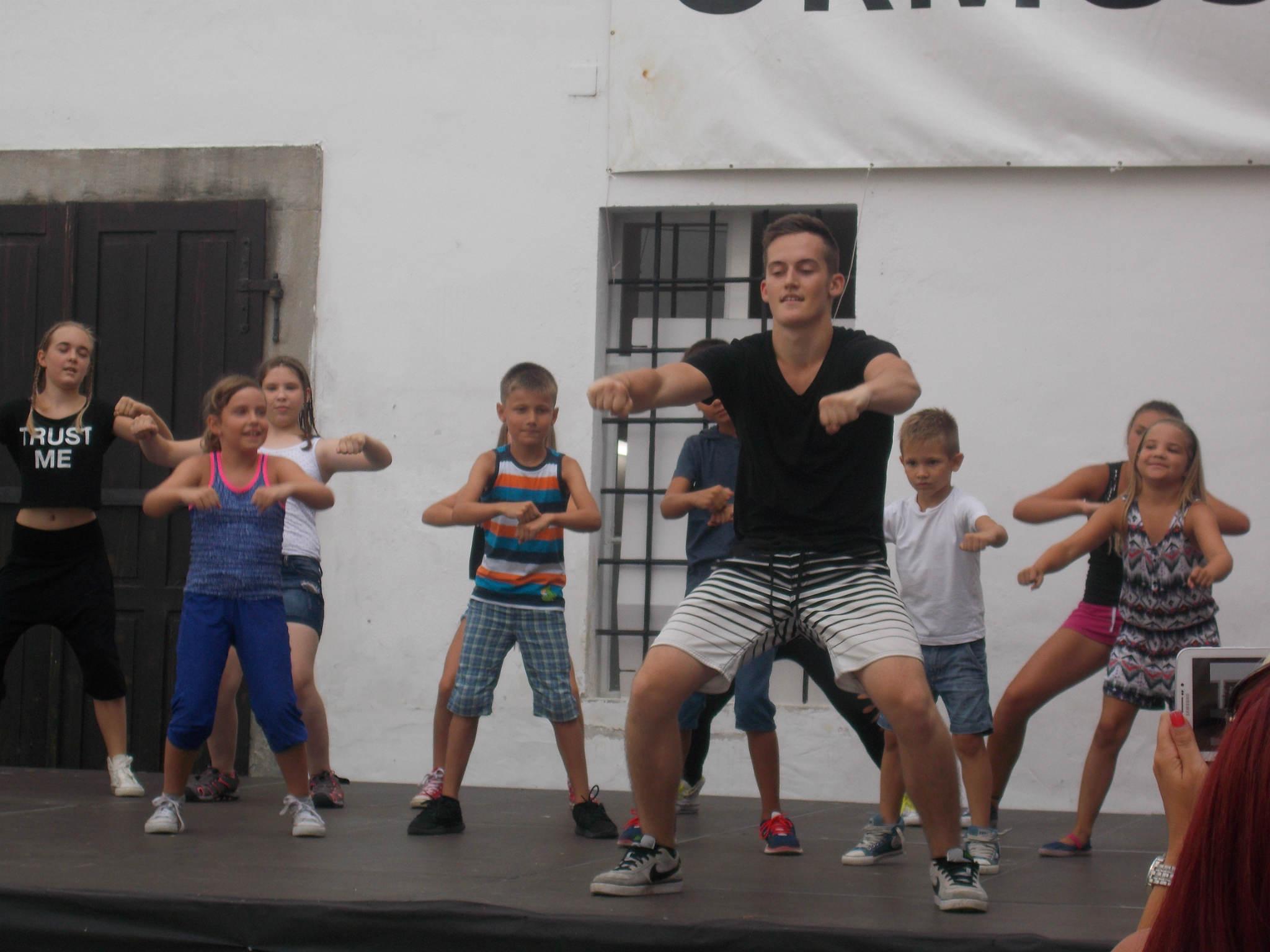 Z zaključka plesnih delavnic v Mladinskem centru Ormož: