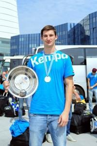 Jure Kocbek je eden izmed osmih članov RK Jeruzalem Ormož, ki se je okitil s srebrno medaljo iz SP kadetov v Rusiji.