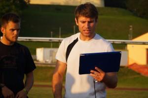 Uvodne treninge RK Jeruzalem Ormož je opravil Darko Kneževič, strokovnjak za fizično pripravljenost.