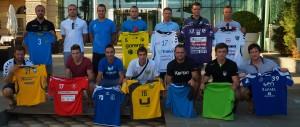 Na predstavitvi  klubov NLB Leasing lige v Porotrožu pred hotelom Kempinski.