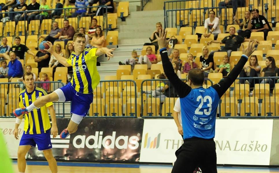 ROKOMET, NLB Leasing liga, 4. krog: Padel še Slovenj Gradec v gosteh Slovenj Gradec – Jeruzalem 29 : 33 (14 : 21)