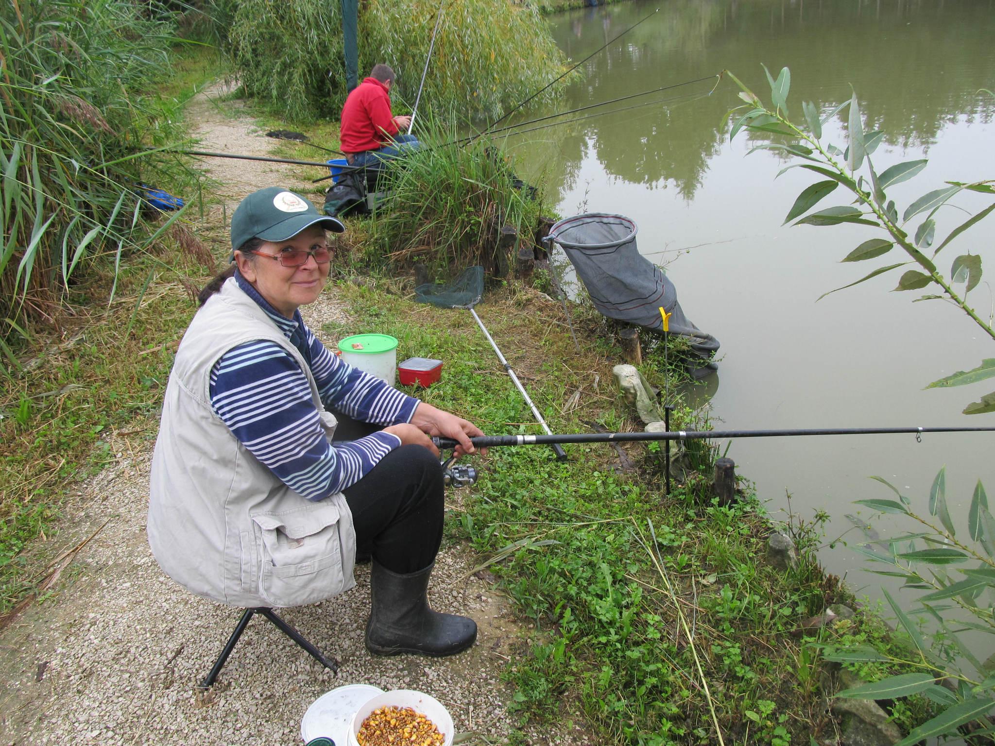 Veteransko ribiško tekmovanje v Ormožu