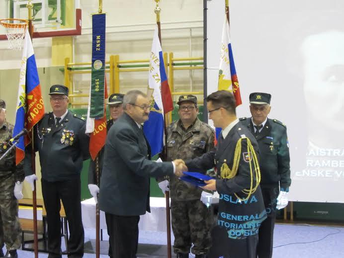 Od generala Maistra, do Teritorialne obrambe, MSNZ in  Slovenske vojske…