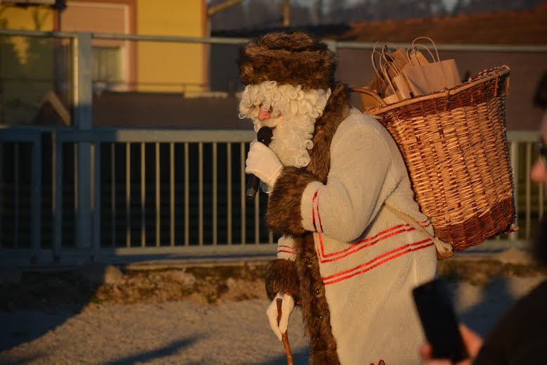 Dedek Mraz obiskal STANICO v Osluševcih