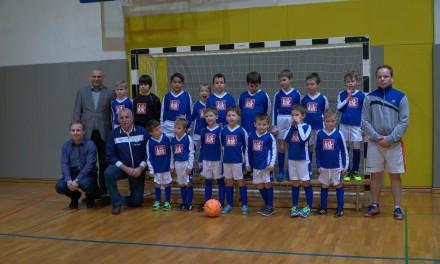 Ormoški mali nogometaši v KIK-ovih dresih