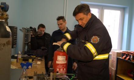 Predsednik države Borut Pahor na obisku pri ormoških gasilcih