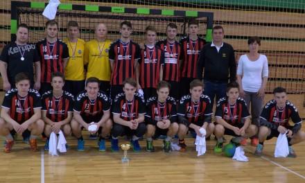 ROKOMET, zaključni turnir srednjih šol v rokometu, Krško: Ormožani znova državni podprvaki