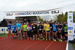 AK Ormož je uspešno kljub slabemu vremenu izpeljal že 15. ormoški mali maraton.