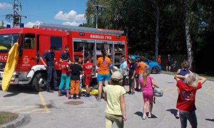 5. tabor gasilske mladine v Središču ob Dravi