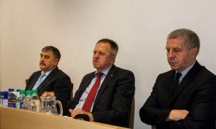 Minister za gospodarski razvoj in tehnologijo Zdravko Počivalšek na obisku v Ormožu