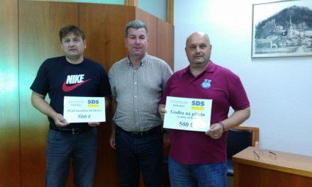 OO SDS Središče ob Dravi po 500 evrov za domače gasilce in godbo
