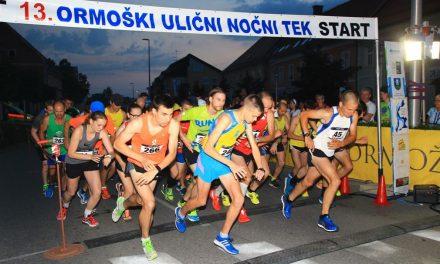 13. ormoški ulični nočni tek 2016: Rekordna udeležba na družinskem teku