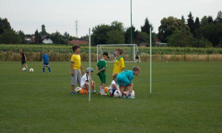 Danes se zaključuje otroški nogometni tabor