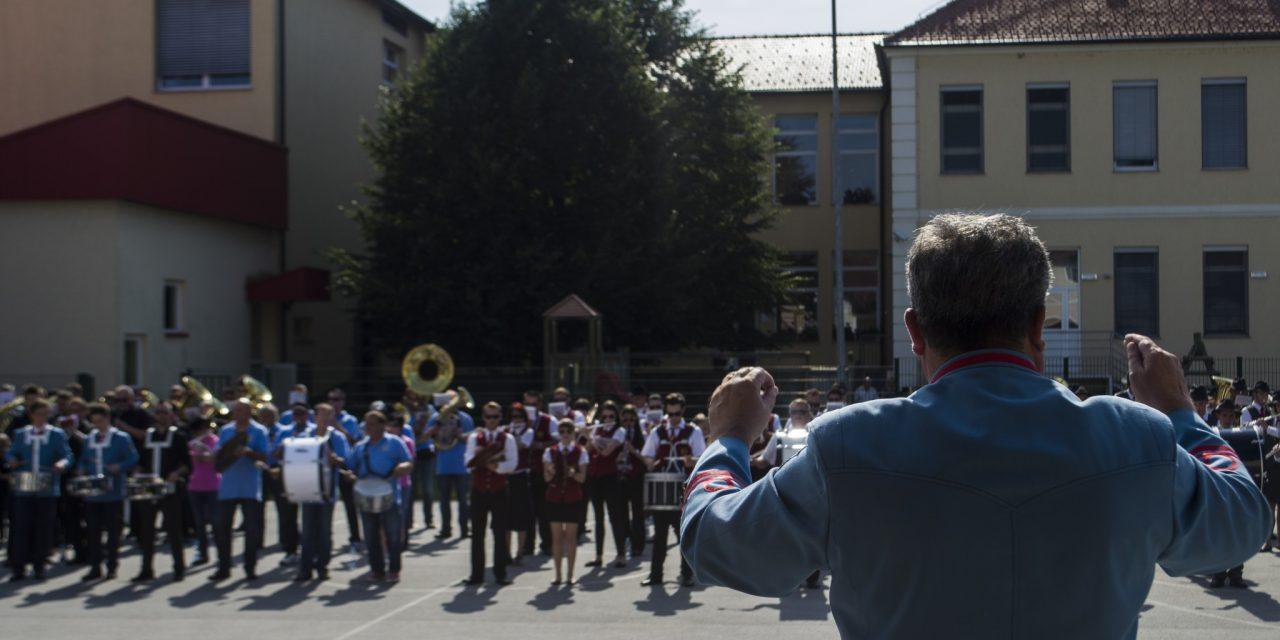 S slovesnosti ob 130. obletnici delovanja Godbe na pihala Središče ob Dravi