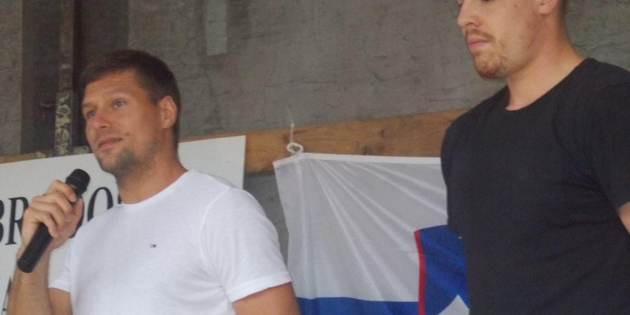 Rokometašu MARKU BEZJAKU,  prvemu Ormožanu na Olimpijskih igrah, v Sodincih pripravili prisrčen sprejem