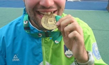 STRELSTVO, 6. svetovne univerzitetne igre na Poljskem 2016:  Kevin Venta svetovni univerzitetni prvak. Solidna tudi Kuharičeva – osma.