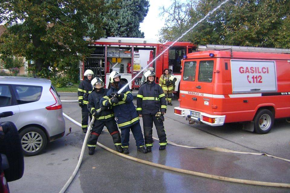 Gasilke GZ ORMOŽ pogasile požar na objektu