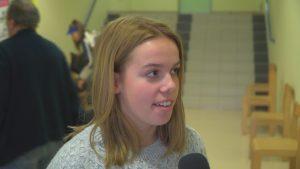 Nuša Žnidarič (SD Kovinar Ormož) je gostovala pred kamero naše TV Ormož.
