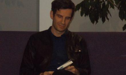 """Ormožan GREGOR KOSI je predstavil svoj prvi roman """"Celica št. 2"""""""