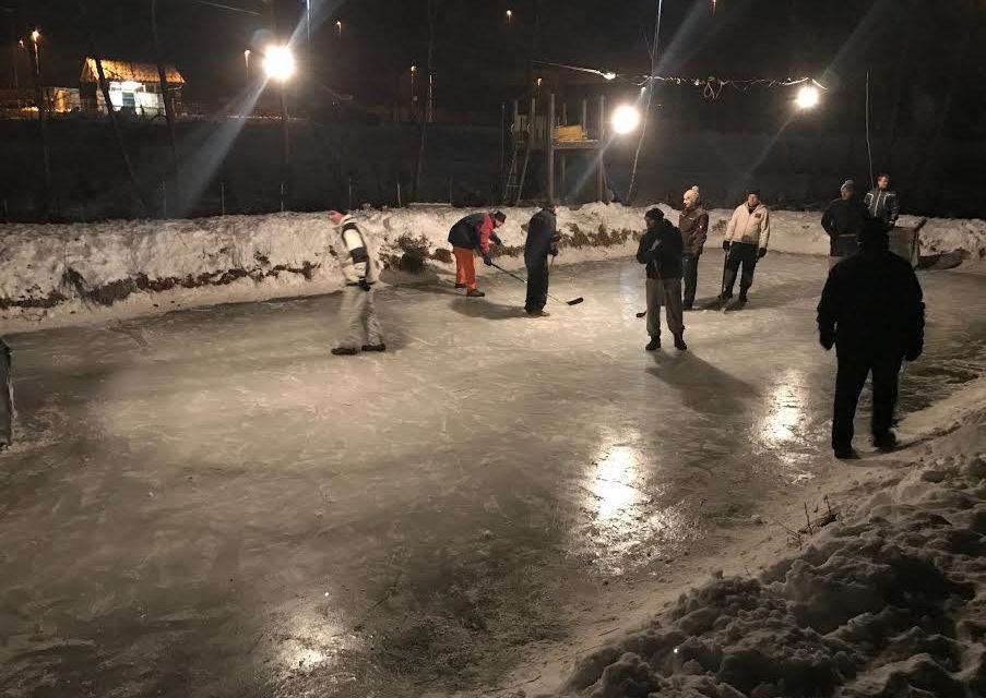 Hokej v Pušencih